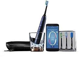 Духи, Парфюмерия, косметика Электрическая звуковая зубная щетка с приложением, синяя - Philips Sonicare DiamondClean Smart HX9954/57
