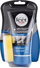 Духи, Парфюмерия, косметика Мужской крем для депиляции в душе для чувствительной кожи - Veet Men Silk & Fresh Hair Removal Cream