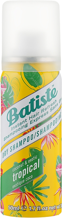 Сухой шампунь - Batiste Dry Shampoo Coconut and Exotic Tropical