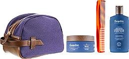 Духи, Парфюмерия, косметика Набор - CHI Esquire Grooming (shampoo/89ml + wax/85g + brush)