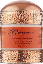 Духи, Парфюмерия, косметика Масло ши с корицей и апельсином - Morjana Cinnamon Orange Shea Butter