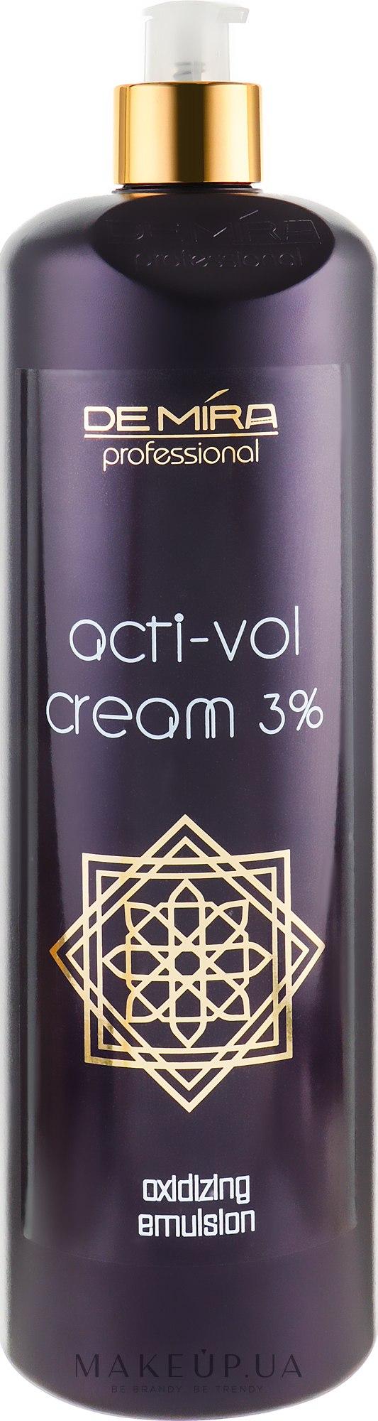 Окисляющая эмульсия 3% - Demira Professional Acti-Vol Cream — фото 1000ml