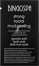 Духи, Парфюмерия, косметика Грязевой пилинг для лица - BingoSpa Face Mud Peeling With AHA (пробник)