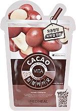 "Духи, Парфюмерия, косметика Маска для лица ""Какао"" - Mediheal Vita Cacao Mask"
