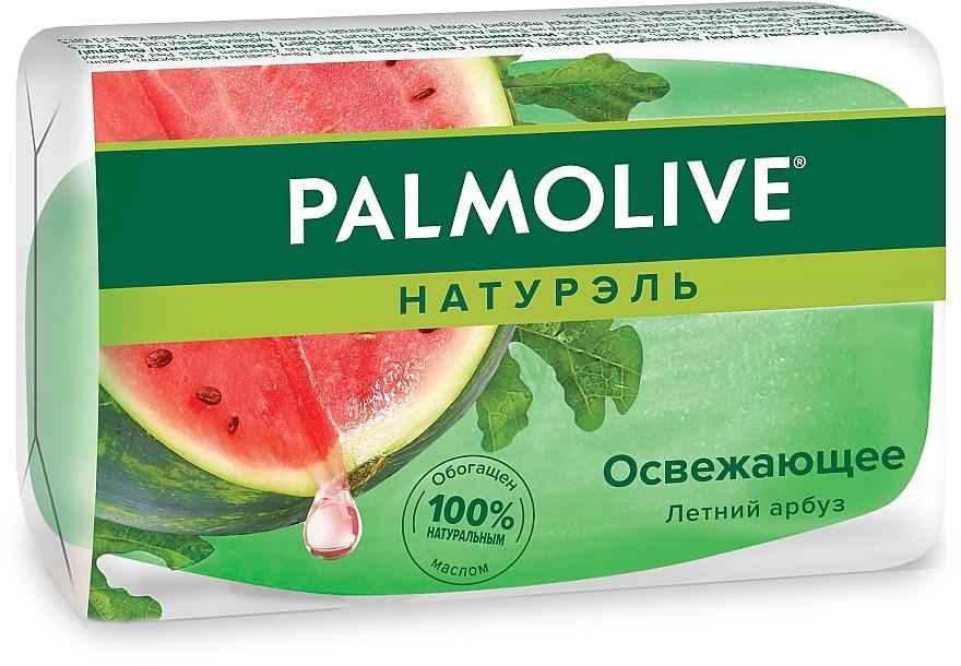 """Твердое глицериновое освежающее мыло """"Натурэль"""" с ароматом арбуза - Palmolive Naturel"""