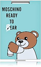 "Духи, Парфюмерия, косметика Зеркало прямоугольное ""Moschino Ready To Bear"" бирюзовое - Rapira"