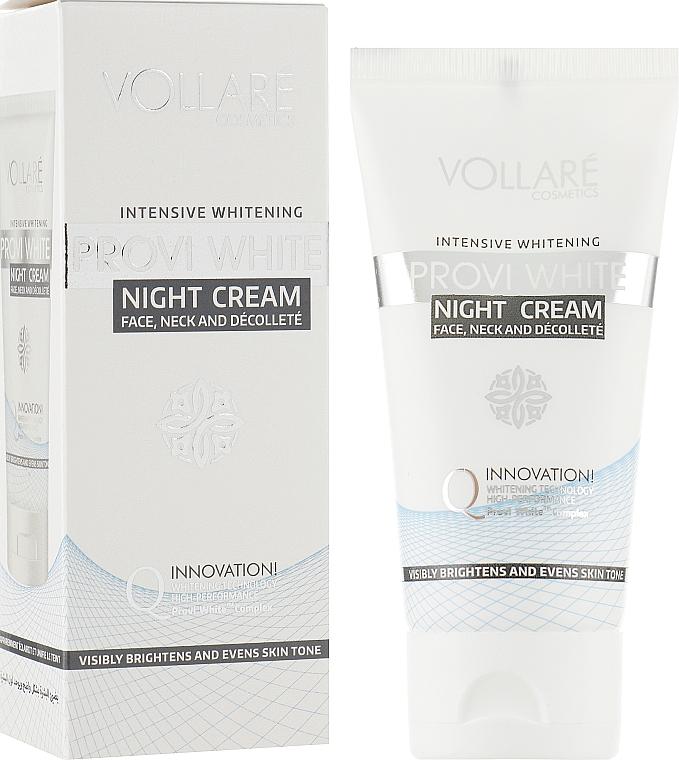 Интенсивно отбеливающий ночной крем - Verona Laboratories Provi White Intensive Whitening Night Cream