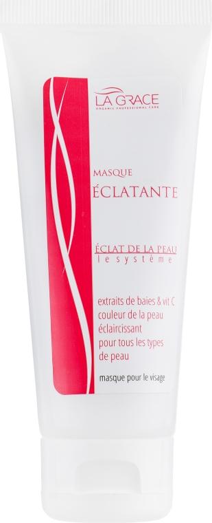 "Маска для лица ""Сияние кожи"" c витамином С - La Grace Eclat De La Peau Masque Eclatante"