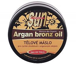 Духи, Парфюмерия, косметика Масло-бронзатор для загара - Vivaco Sun Argan Bronze Oil Tanning Butter