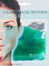 Духи, Парфюмерия, косметика Коллагеновая маска с экстрактом огурца - Beauty Face Cucumber Extract Collagen Mask