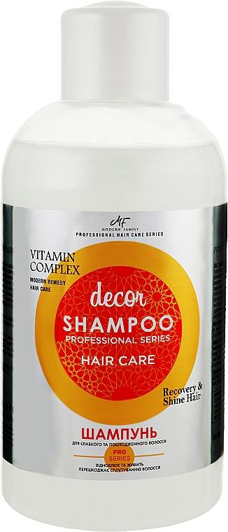 Шампунь для волос - Pirana MODERN FAMILY Vitamin Complex