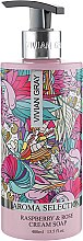 Духи, Парфюмерия, косметика Жидкое крем-мыло - Vivian Gray Aroma Selection Raspberry & Rose Cream Soap