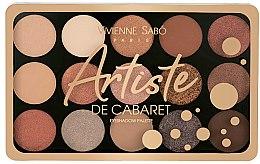 Духи, Парфюмерия, косметика Палетка теней для век 15 цветов - Vivienne Sabo Artiste De Cabaret Eyeshadow Palette