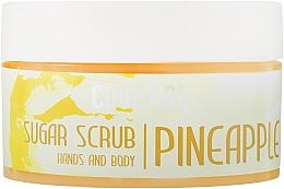 Духи, Парфюмерия, косметика Сахарный скраб для рук и тела «Pineapple» - Courage Hands & Body Sugar Scrub