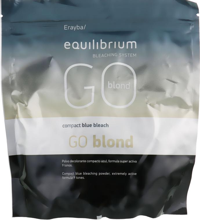 Пудра для осветления волос - Erayba Equilibrium Bleaching System Go Blond