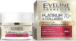 Духи, Парфюмерия, косметика Крем-маска для лица 70+ - Eveline Cosmetics Platinum & Collagen Luxury Cream-Mask