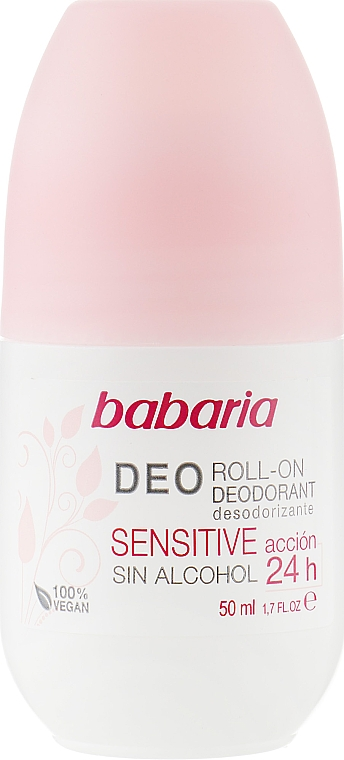 Роликовый дезодорант - Babaria Deo Roll-On Deodorant Sensitive