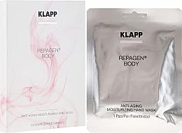 Духи, Парфюмерия, косметика Омолаживающая увлажняющая маска для рук - Klapp Repagen Body Anti-Aging Moisturizing Hand Mask (пробник)