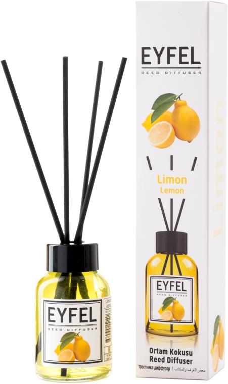 "Аромадиффузор ""Лимон"" - Eyfel Perfume Reed Diffuser Lemon"