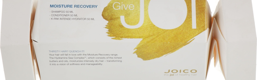 Набор для сухих волос - Joico Moisture Recovery Set (sh/50ml+cond/50ml+hair/hydr/50ml)