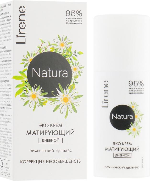 """Дневной крем для лица """"Эдельвейс"""" - Lirene Natura Eco Cream"""