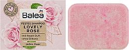 Духи, Парфюмерия, косметика Твердый шампунь - Balea Festes Shampoo Lovely Rose