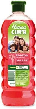 """Шампунь для волос """"Женьшень"""" - Velta Cosmetic Наша семья"""