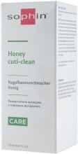 Размягчитель кутикулы с медовым экстрактом - Sophin Honey Cuti-clean — фото N3
