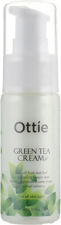 Увлажняющий крем с экстрактом зеленого чая - Ottie Green Tea Cream