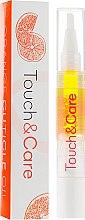 Духи, Парфюмерия, косметика Масло апельсина по уходу за кутикулой - J'erelia Touch&Care Orange Cuticle Oil