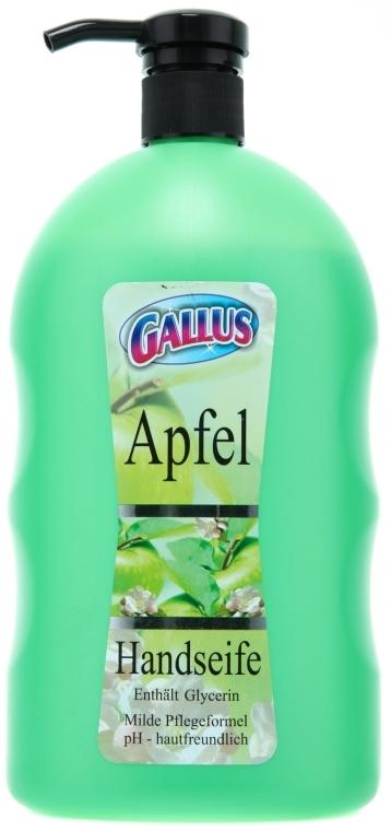 """Жидкое мыло для рук """"Яблоко"""" - Gallus Soap"""