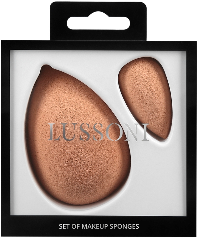 Спонж для макияжа - Lussoni Raindrop Makeup Sponge Set