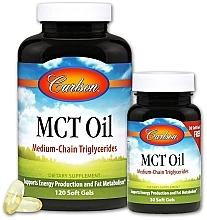 Духи, Парфюмерия, косметика Набор - Carlson Labs MCT Oil (gel/120szt + gel/30szt)