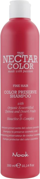 """Шампунь """"Стойкость цвета"""" для жестких волос - Nook The Nectar Color Color Preserve Shampoo"""