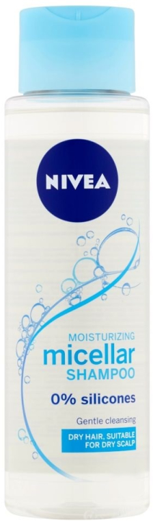 Мицеллярный шампунь дял сухих волос - Nivea Moisturizing Micellar Shampoo