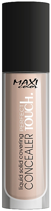Консилер - Maxi Color Perfect Touch Liquid Solid Covering Concealer