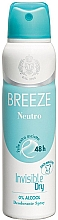 Духи, Парфюмерия, косметика Breeze Deo Spray Neutro 48h - Дезодорант для тела