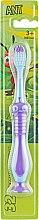 """Духи, Парфюмерия, косметика Детская зубная щетка """"32 жемчужины"""", фиолетово-голубая - Modum Ant Kid"""