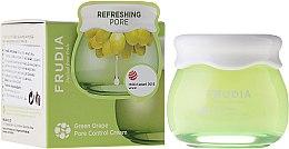 Духи, Парфюмерия, косметика Себорегулирующий крем для лица - Frudia Pore Control Green Grape Cream