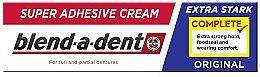 Духи, Парфюмерия, косметика Крем для фиксации зубных протезов - Blend-A-Dent Super Adhesive Cream Original Complete