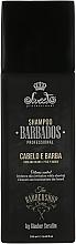 Духи, Парфюмерия, косметика Шампунь для волос и бороды - Sweet Professional Barbados Hair & Beard Shampoo