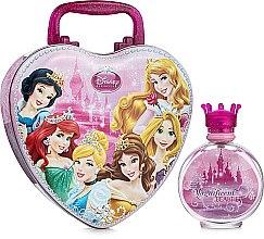 Духи, Парфюмерия, косметика Disney Princess - Набор (edt/100ml+ lunch/box)