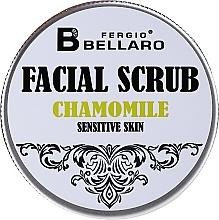 Духи, Парфюмерия, косметика Скраб для лица с ромашкой - Fergio Bellaro Facial Scrub Chamomile