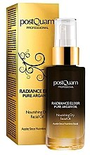 Духи, Парфюмерия, косметика Увлажняющее масло для лица - Postquam Radiance Elixir Pure Argan Facial Oil Nourishing Facial Oil