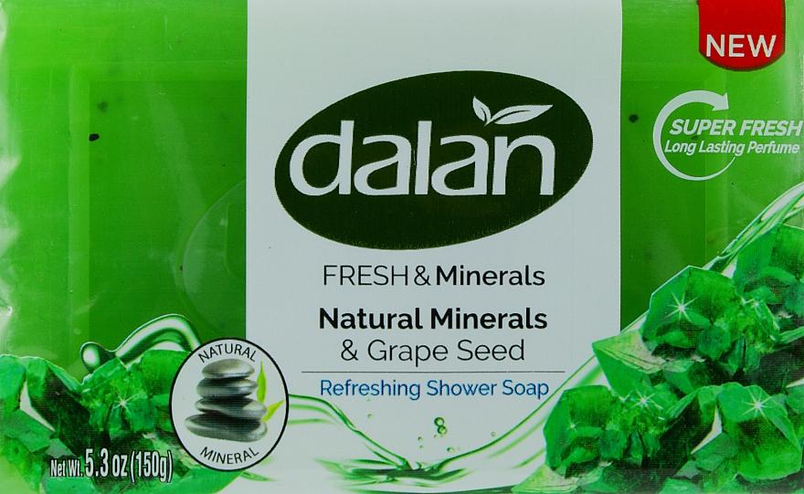 """Мыло для душа """"Виноградные косточки и минералы"""" - Dalan Fresh & Minerals Natural Minerals & Grape Seed"""