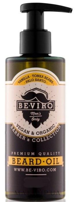 Масло для бороды - Be-Viro Beard Oil Vanilla Palo Santo Tonka Boby — фото 200ml