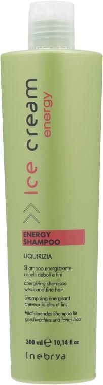 Тонизирующий шампунь против выпадения волос - Inebrya Ice Cream Energy Shampoo