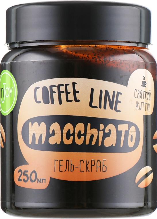 "Гель-скраб для тела ""Macchiato"" - InJoy Coffee Line"