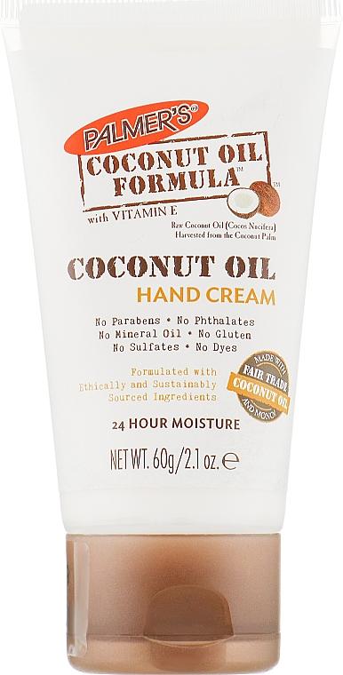 Крем для рук с кокосовым маслом и витамином E - Palmer's Coconut Oil Formula with Vitamin E Hand Cream