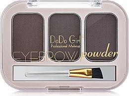 Пудра для бровей - DoDo Girl Eyebrow Powder — фото N2